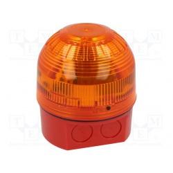 maják  oranžový zábleskový IP65 KLAXON SIGNALS LTD.