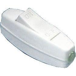 vypínač medzikáblový biely 250V/3A