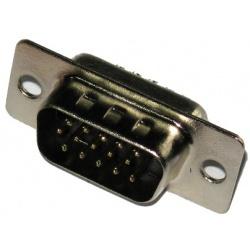 Kon.D-SUB DB-15pin kolík.kábel SWGA