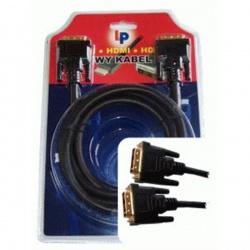 kábel KP032-1,8 Káb.preo.DVI-DVI 1,8m blist.