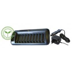 Nabíjačka batérií MW8998 1-10AA/AAA, 1-2x9V