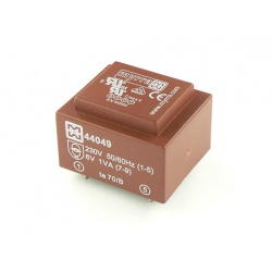 transformátor do DPS 44058 Myrra 2x15V 1VA