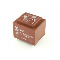 transformátor do DPS 44130 Myrra 2x15V 2VA