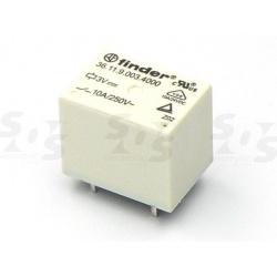 relé 3611 12VDC 10A 1C 400R