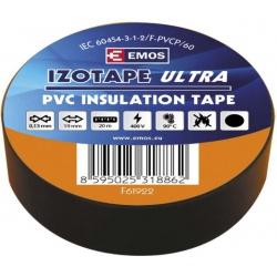 páska izol.PVC 19/20 čierna
