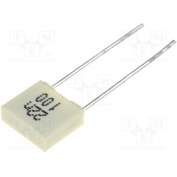 Kondenzátor fóliový 22nF/100V RM5