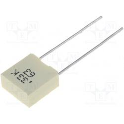 Kondenzátor fóliový 330nF/63V RM5