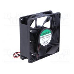 Ventilátor 80x25 12VDC KLZNÉ