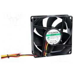 Ventilátor 80x25 12VDC VAPO