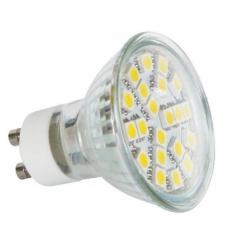 žiarovka LED SMD21LED  GU10WW