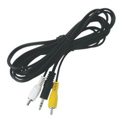 kábel JACK 3,5ST-2xCINCH 3m
