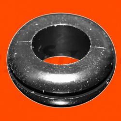 priechodka káblová D10/12/16mm, H6,5mm, panel hr.max.1,5,PVC