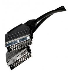 kábel SCART-3RCA 1m SB2001