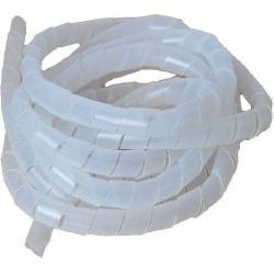 Zväzovacia špirála 18-65mm, pr.=10mm, biela