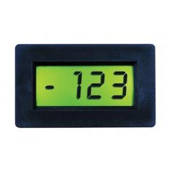 panelové meradlo LDP438 200mV LCD