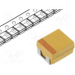 kondenzátor tantalový SMD 100uF/6,3V