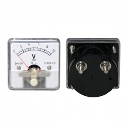 voltmeter analógový 10V