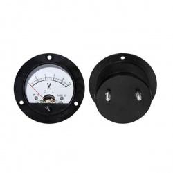 voltmeter analógový 10V okrúhly
