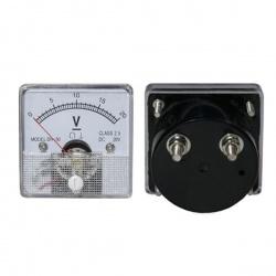 voltmeter analógový 20V