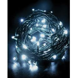 vianočné osvetlenie 1V02 biela 120LED 20m