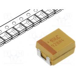 kondenzátor tantalový 10uF/16V  SMDB
