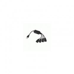 redukcia HUB USB 2.0 4 portový