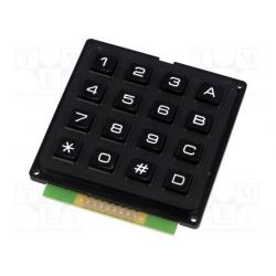 klávesnica univerzálna  KB1604-PNB