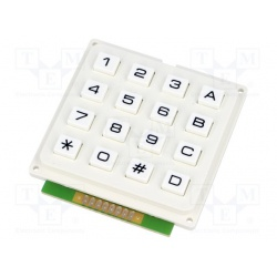 klávesnica univerzálna KB1604-PNW