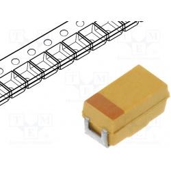 kondenzátor 10uF/10V tantal SMDA