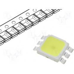 LED Biela 1W LL-HPR5050WEB