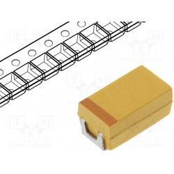 kondenzátor tantalový SMD 220uF 6,3V