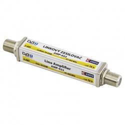 anténny zosilňovač  linkový 22dB VHF/UHF