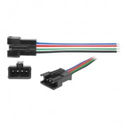 konektor s kábl. pre RGB pásy - kolík