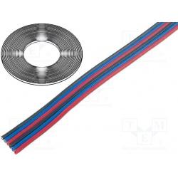 kábel plochý 6x0,35qmm