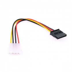 konektor s káblom redukcia MOLEX na SATA