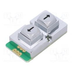 klávesnica univerzálna  AB102-MARS-WP kovová