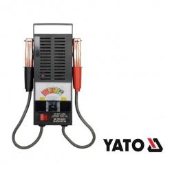 Tester autobatérií analógový YATO