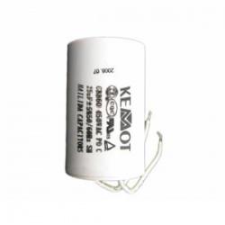 rozbehový kondenzátor 25uF/450V